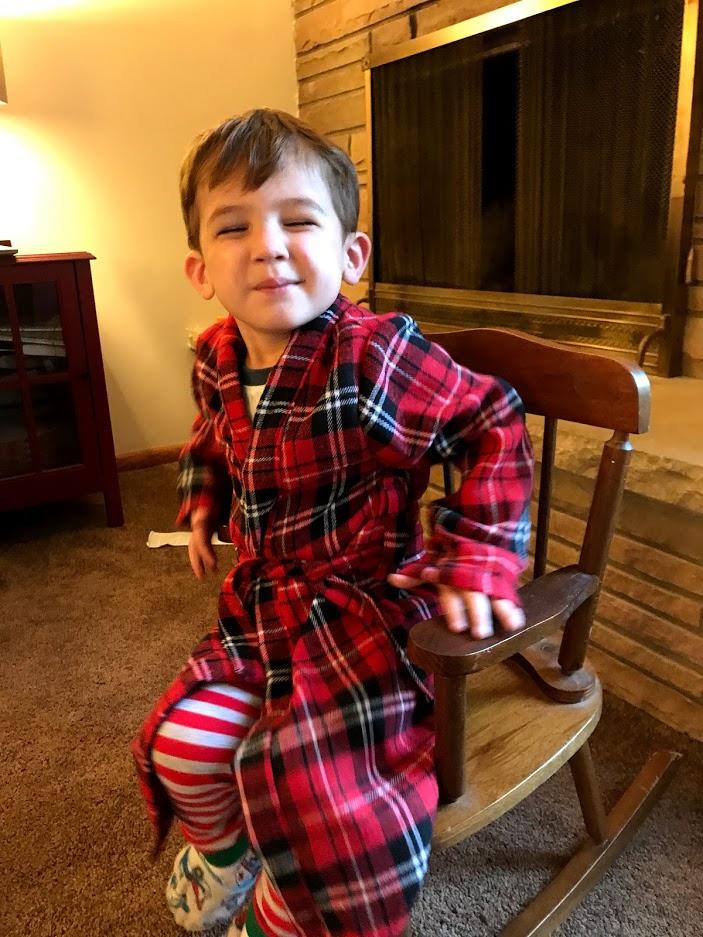 Christmas 2019: Toddler Boy's Robe
