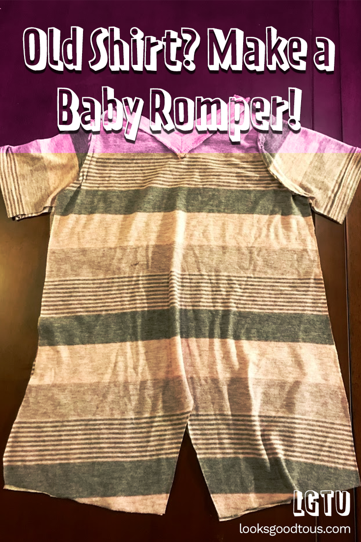 Christmas 2019: Turning an Old T-Shirt into a New Romper