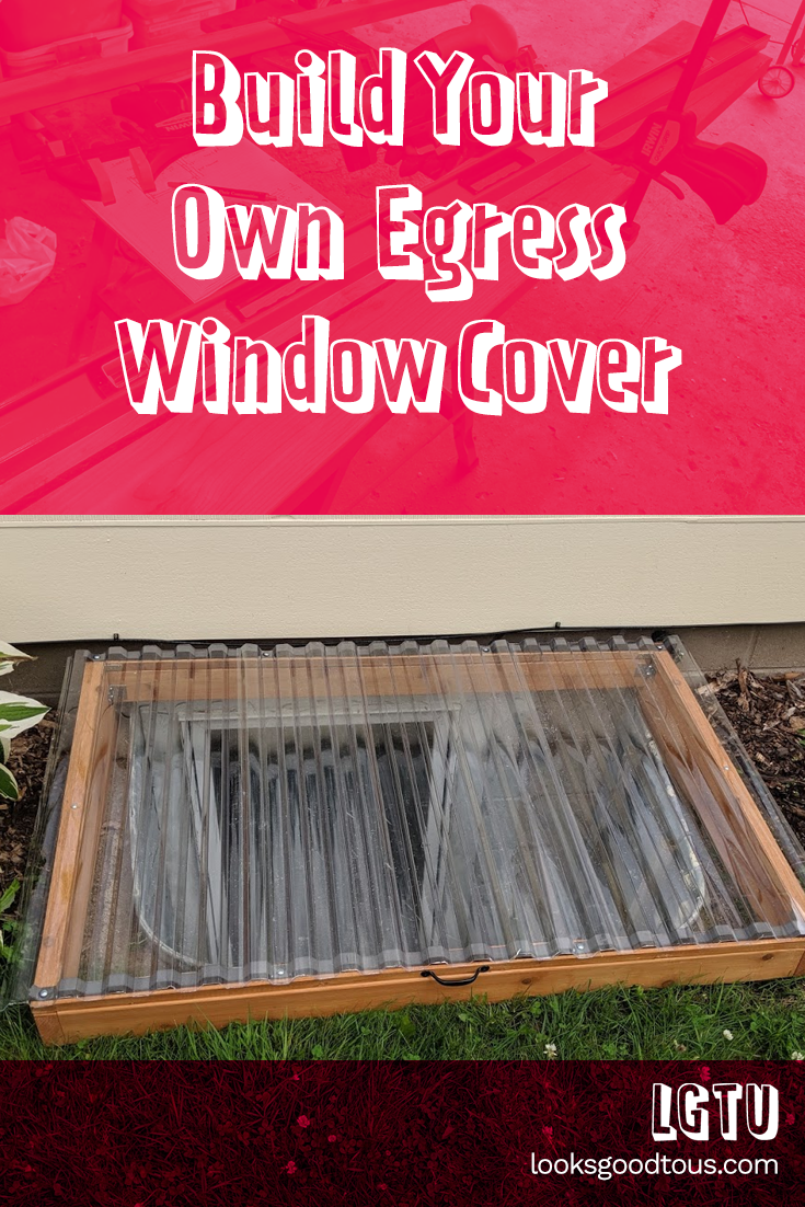 DIY Custom Framed Egress Window Cover