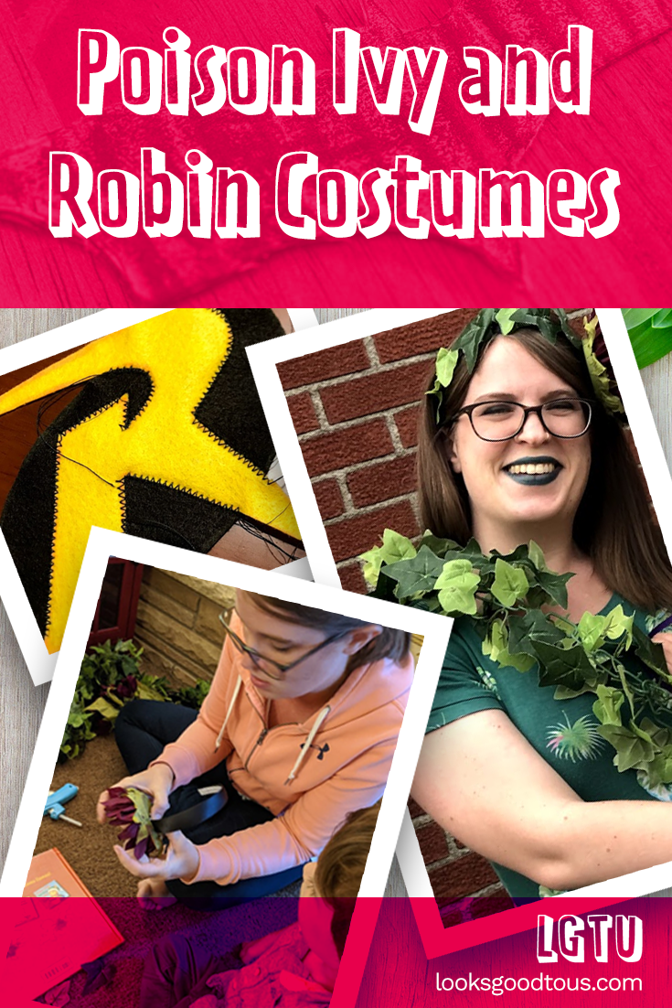 2020 Halloween Costumes: Robin and Poison Ivy