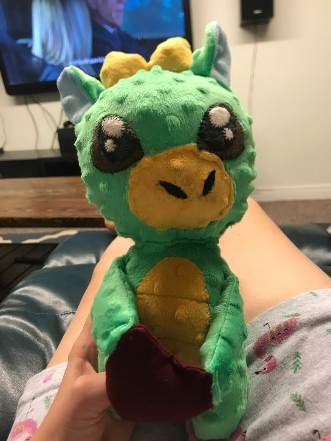 Christmas 2020: Stuffed Dragon for Rami