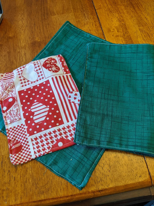 COVID Project: Reusable Cloth Napkins