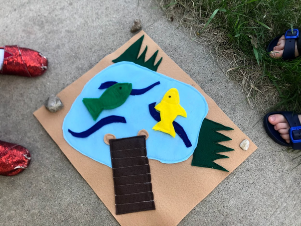 DIY Kids' Fishing Game